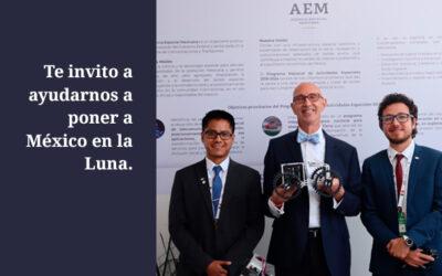 Te invito a ayudarnos a poner a México en la Luna.